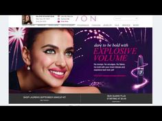 Take a look at the new avon website.  Now it's more than just shopping!