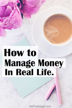 Learn how to manage money in real life -- using the real life money plan by the Budget Mama | Financegirl