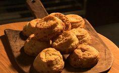 Scones / biscoitos de queijo