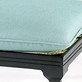 Seat and Back Cushion Set with Knife Edge - O