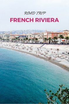 holiday trip French Riviera Road Trip: 3 and 7 day itinerary for the Cote d'Azur with options for a road trip through Provence and the rest of the South of France. Get driving ideas and h Europe Travel Tips, European Travel, Places To Travel, Europe Europe, Nice France, South Of France, Photos Black And White, Nice Ville, Belle France