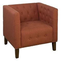 Jofran Zoe Tufted Accent Chair in Mango Jofran http://www.amazon.ca/dp/B0144XVRZ0/ref=cm_sw_r_pi_dp_wXB2vb0C0YAFD