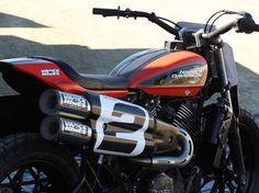 Harley-Davidson, XG750R, Flat Track Racer, Harley-Davidson XG750R, rear view harley davidson xg750r