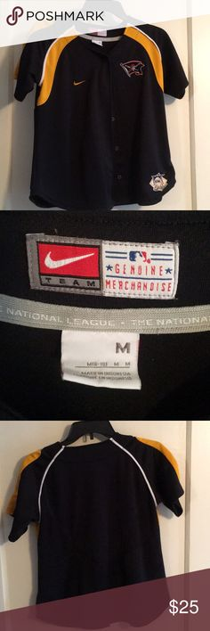 Pittsburgh Pirates button up top Pittsburgh Pirates sportswear. Nike. Good condition Nike Other