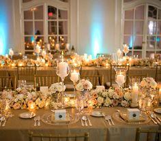 arany esküvői dekoráció - Google keresés
