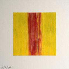 #343 | square abstract painting (original) | acrylic on white board | size 9 cm x 9 cm | boardsize 15 cm x 15 cm | https://www.etsy.com/shop/quadrART