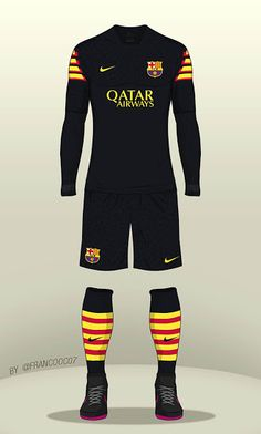 FC Barcelona 16-17 Concept Kit by Franco - Footy Headlines
