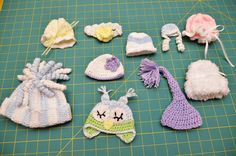 links to some angel baby hats