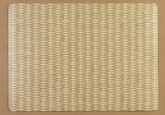 Wicker Rectangle Vinyl Placemats Set of 4 Natural ** Learn more by visiting the image link.Note:It is affiliate link to Amazon.