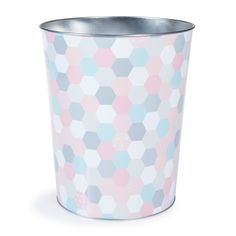 Corbeille à papier en métal multicolore H 26 cm ZOÉ