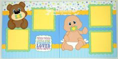 Scrapbook Page Kit Twinkle Little Star by TheScrapbookEmporium, $10.00
