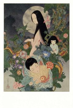 """Takato Yamamoto - Japanese Illustration - Heisei Estheticism - """"Grass Labyrinth"""""""