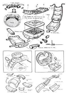 国外工业产品设计草图-中国设计师沙龙