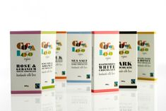 """burst* created a new identity, packaging, website and promotional material for the hand made chocolatiers Cocoa Loco."