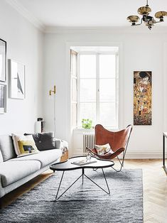 Top Modern Living Room Interior Designs and Furniture Cozy Living Rooms, Living Room Chairs, Living Room Interior, Apartment Living, Home And Living, Living Room Furniture, Living Room Decor, Modern Living, Small Living
