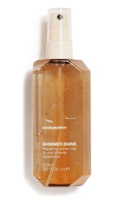 SHIMMER.SHINE - Revive shine and repair hair with this finishing mist.   Light reflective technology adds a brilliant shine to hair with no oily residue.