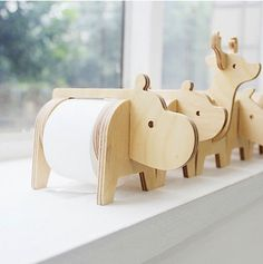 Safari animal tape holder | nothingelegant - Craft Supplies on ArtFire