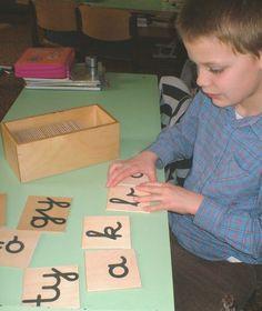 komplett óratervi leírások a Montessori módszerrel tanító iskolában - nagyon jó! mashaAllah Anyanyelv-pedagógia