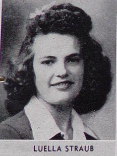 Luella Straub - Class of 1945 - Lodi Union High School - Lodi, California - 1945
