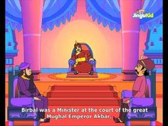 Akbar Birbal Stories for Kids - Palace Light - Children Animated Stories