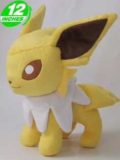 Image detail for -Pokemon Eeveelutions Jolteon Plush Doll PNPL7064