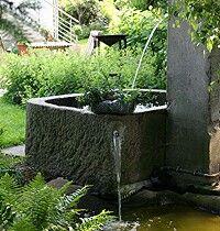 New Brunnen im Garten