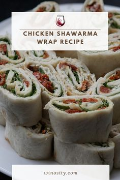 A mystical blend of yogurt, lemon, and Mediterranean spices makes this the best chicken shawarma wrap recipe! An excellent recipe for chicken thighs packed with a savory flavor that melts in your mouth. A quick and easy dinner recipe perfect for those who are looking for an alternative low-carb meal. You may also pair this recipe with the best white wines. #sandwichesandwraps #wineanddinner #foodandwinerecipes #winepairingswithfood #dinneronthego #sauteedchickenthighs Chicken Recipe With Wine, How To Cook Chicken, Creamy Cucumber Salad, Creamy Cucumbers, Best Comfort Food, Healthy Comfort Food, Wrap Recipes, Easy Dinner Recipes, Chicken Shawarma Wrap Recipe