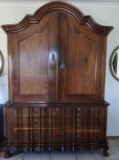 Ornate masterpiece fit for a palace. Colonial Furniture, Antique Furniture, Cape Dutch, Junk Mail, Dutch Colonial, Armoire, Palace, Fill, Antiques