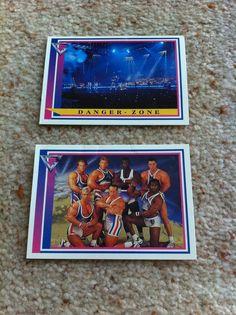 Merlin Gladiators Trading Cards 19 26 Danger Zone & Male Wolf Warrior Cobra 1993