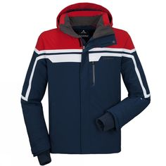 P I N T E R E S T: Kgsobott ✨ ❄️     -  Men's Bergamo Jacket, its got that modern/vintage look about it. Almost looks like a ski patrol jacket  #ski #skiing #skijacket
