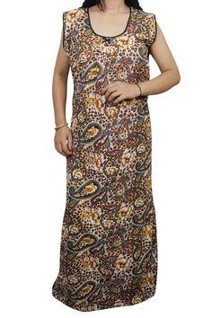 Indiatrendzs Women Cotton Night Wear Printed Yellow Summer Sleeveless Nighty 46  | eBay  http://www.ebay.in/itm/Indiatrendzs-Women-Cotton-Night-Wear-Printed-Yellow-Summer-Sleeveless-Nighty-46-/302365097205?hash=item46665d3cf5