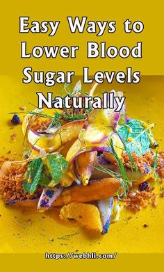 Easy Ways to Lower Blood Sugar Levels Naturally Blood Sugar Levels, Lower Blood Sugar, Diabetic Recipes, Diet Recipes, Diabetic Foods, Healthy Lifestyle, Healthy Eating, Medical