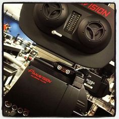 """The A & B 35mm @Panavision cameras on JJ's #StarWars have names as well, A is """"Deathstar"""" and B is…""""Millennium Falcon""""."""