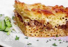 Makaróni pite Lasagna, Ethnic Recipes, Food, Essen, Meals, Yemek, Lasagne, Eten
