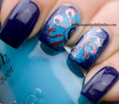 31DC2013 – Day 5 Blue Nails - My Nail Polish Online
