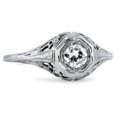 18K White Gold The Nandita Ring