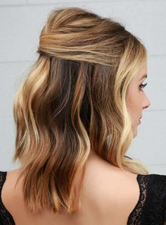 9 Chic and Simple Ways to Wear Your Hair to a Wedding via @ByrdieBeauty