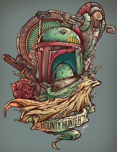 The Bounty Hunter http://frikinianos.es/bounty-hunter/ #StarWars #BountyHunter…