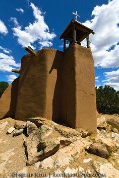La Morada de la Conquistadora at El Rancho de las Golondrinas. Santa Fe, New Mexico.