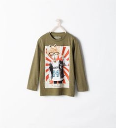 ZARA - KIDS - PATTERNED T-SHIRT