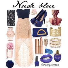 Nude blue