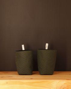 Umzi Fabric Storage Basket - Black - $12.95 #homedecor #fabricbasket #homestorage