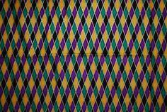 Venetian Mardi Gras diamond quilting fabric by vintageinspiration, $10.00