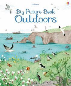 A big picture book with giant fold-out pages to satisfy the curiosity of every young adventurer. The Big Picture Book of Outdoors is full of beautiful illustrations of wildlife in different habitats, that will encourage children to explore outdoors and find out more about nature.