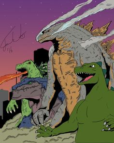 America's Godzillas