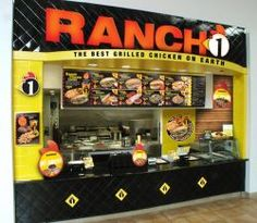 I loved Ranch One. They had the best chicken fingers, and a really nice roasted red pepper sauce that I would put on the fries. I also liked how their chicken sandwich had a lot of greens in it. They all went out of business suddenly in the late 90s.