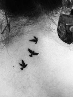 My first tattoo #tattoo #birds
