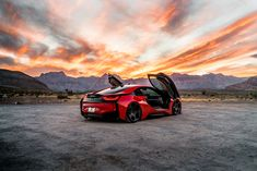 Take a look at the Unique Custom Solution for Red BMW photos and go back to customizing your vehicle with renewed passion. Bmw I8, Go Shopping, Bugatti, Where To Go, Luxury Cars, Super Cars, Iphone Wallpaper, Fire, Sky
