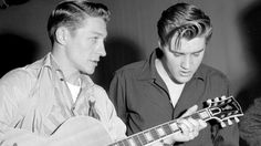 Scotty Moore,died June 26, 2016, at the age of 84. Scotty was one of seven members of the musical entourage who helped create the Presley sound on stage and in the recording studio during the singer's rise to rock 'n' roll renown in the mid-fifties. With the previous deaths of bass player Bill Black, all four of the Jordanaires—Hoyt Hawkins, Neal Matthews, Hugh Jarrett, and Gordon Stoker—and Elvis himself, drummer D.J. Fontana is now the last man standing from those early years of…