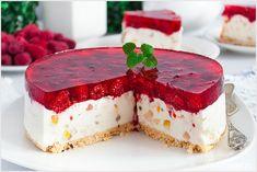 Sernik Cassata - I Love Bake Polish Recipes, Polish Food, Food Themes, Christmas Themes, Cheesecakes, Cooking Recipes, Sweets, My Love, Dhal